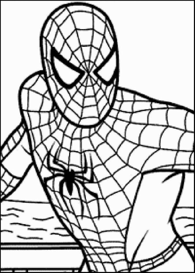 Coloring Pages Of Spiderman Disegni Da Colorare Cose Da