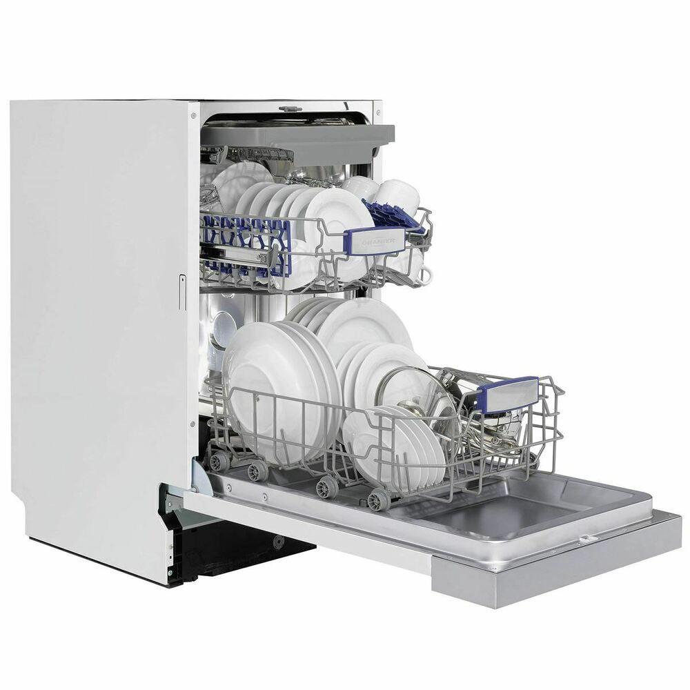 Oranier Spulmaschine 45 Cm Geschirrspuler Teilintegrierbar Aquastop Unterbau Ein Geschirrspuler Spulmaschine Kuche Kaufen