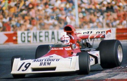 Regga !! BRM P160E 1973 French GP