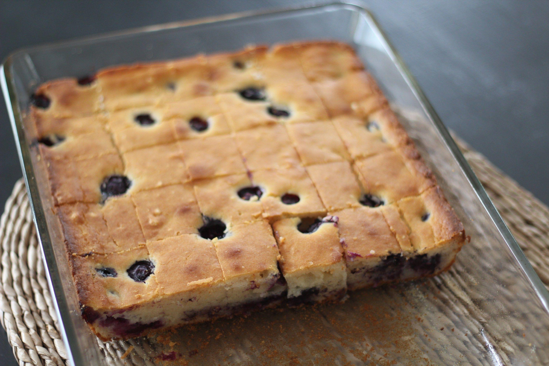 Blueberry mochi cake mochi cake desserts baking