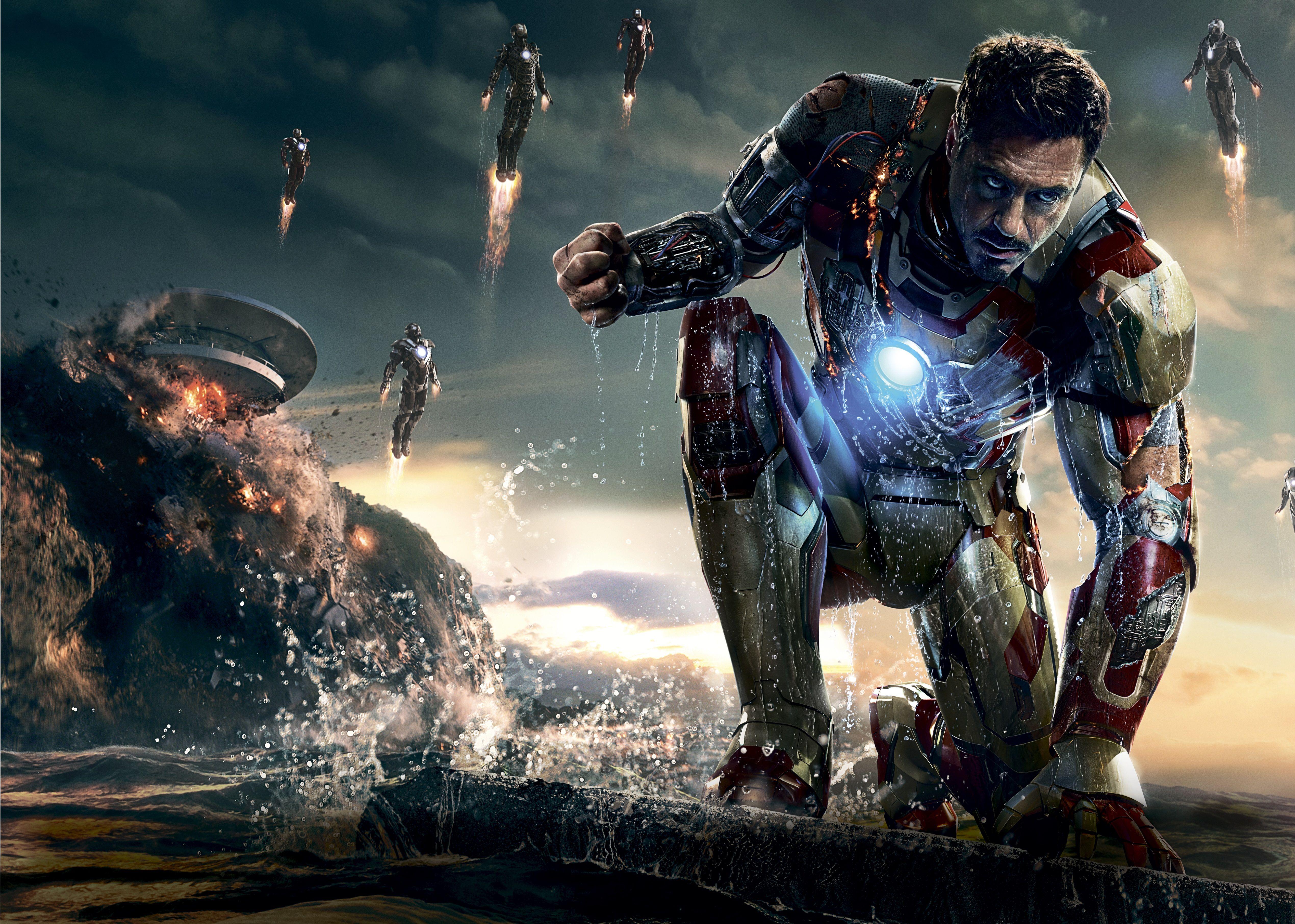 iron man 3 - textless movie poster | movie promos, stills & posters
