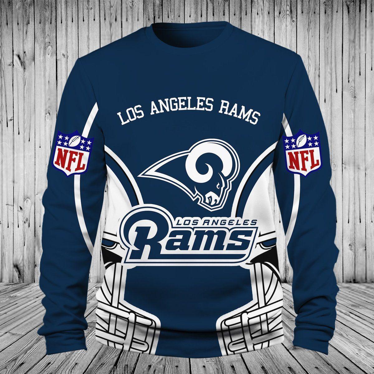 Men Women Los Angeles Rams 3d Sweatshirt Los Angeles Rams Sweatshirt Nfl Los Angeles Rams Apparel Mens Tops T Shirt Tops