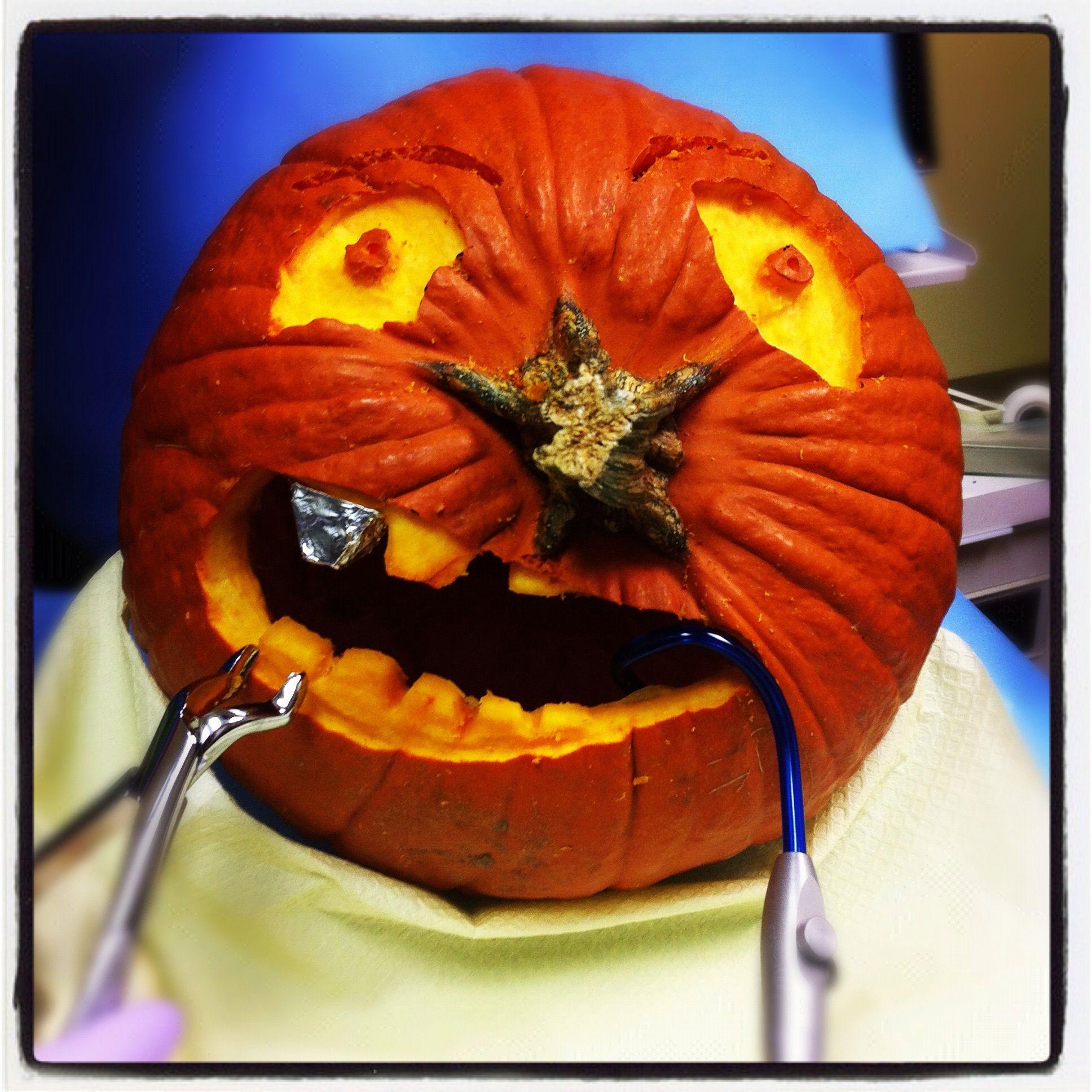 do you feel sorry for dental pumpkins that need dental work so