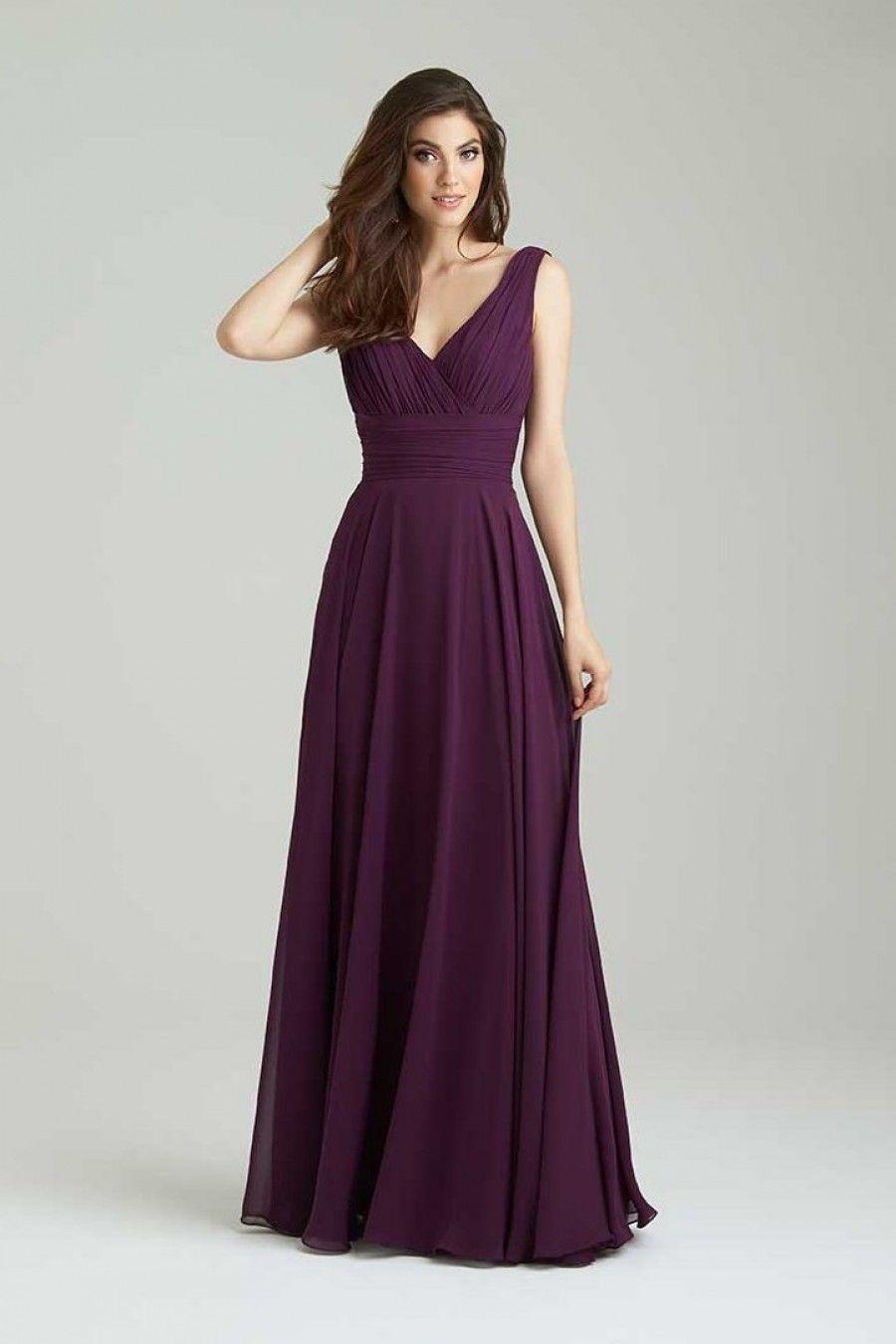 Allure Bridals Bridesmaids Dress Style 1455 Perfect Bridal