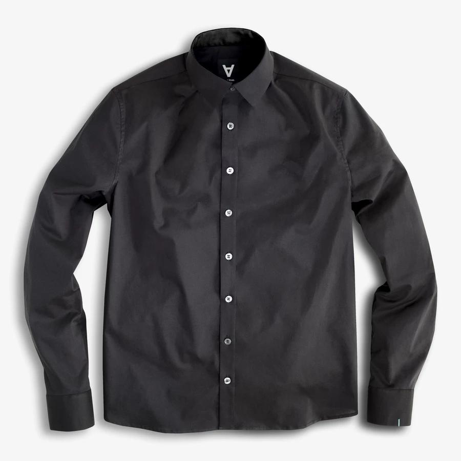 Serious Black Shirts Black Shirt Dress Stylish Mens Fashion [ 900 x 900 Pixel ]