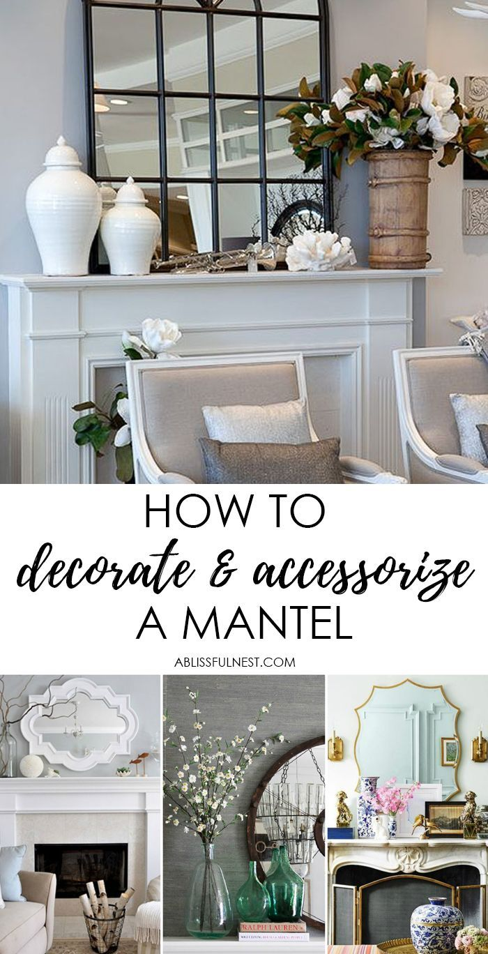 Photo of How to Decorate and Accessorize A Mantel – A Blissful Nest