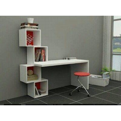 Escritorio moderno minimalista mesa para pc con cubos for Diseno de mesa de computadora