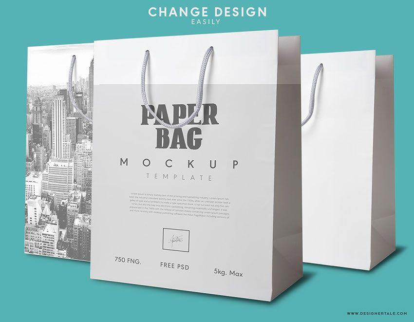 Download Paper Bags 2 Mockup Set Mockup Free Psd Bag Mockup Photoshop Mockup Free