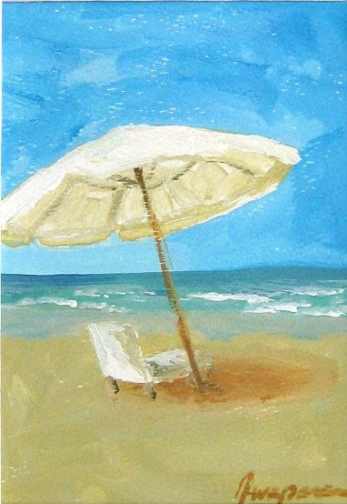 The Beach Would Love To Be There Now Beach Painting Beach Art Scenery Paintings