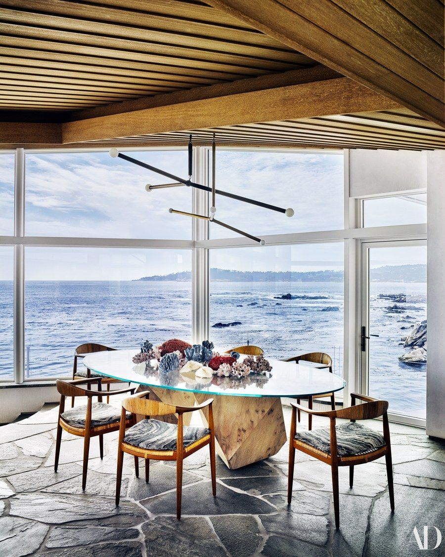 Modern coastal living home design interior room butterfly also explore the mid century seaside escape rh pinterest
