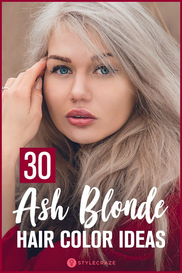 30 Ash Blonde Hair Color Ideas That You'll Want To Try Out Right Away #ashblondebalayage