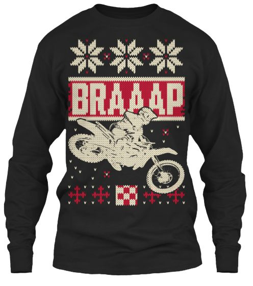 Motocross Braaap Christmas | Christmas sweaters, Motocross
