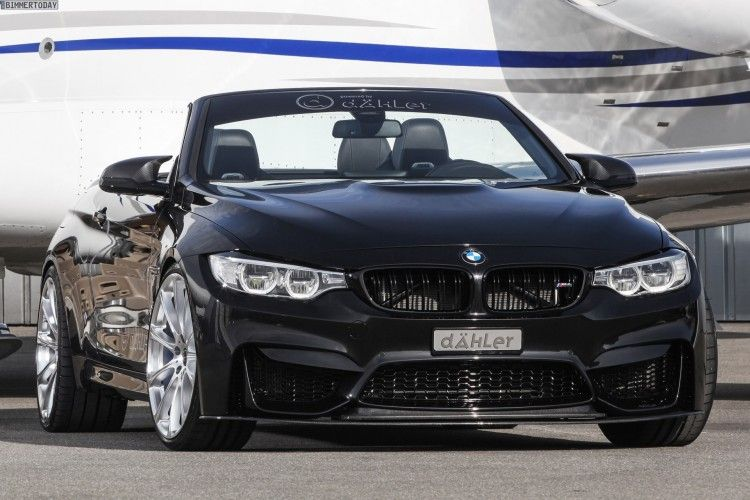 Dahler Bmw M4 Convertible With Power Tuning To 540 Hp Bmw M4 Bmw Convertible Bmw