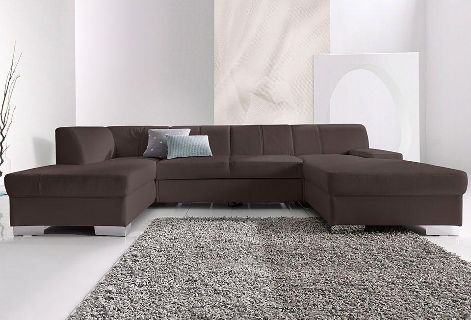 Quelle Sofa wohnlandschaft wahlweise mit bettfunktion jetzt bestellen unter