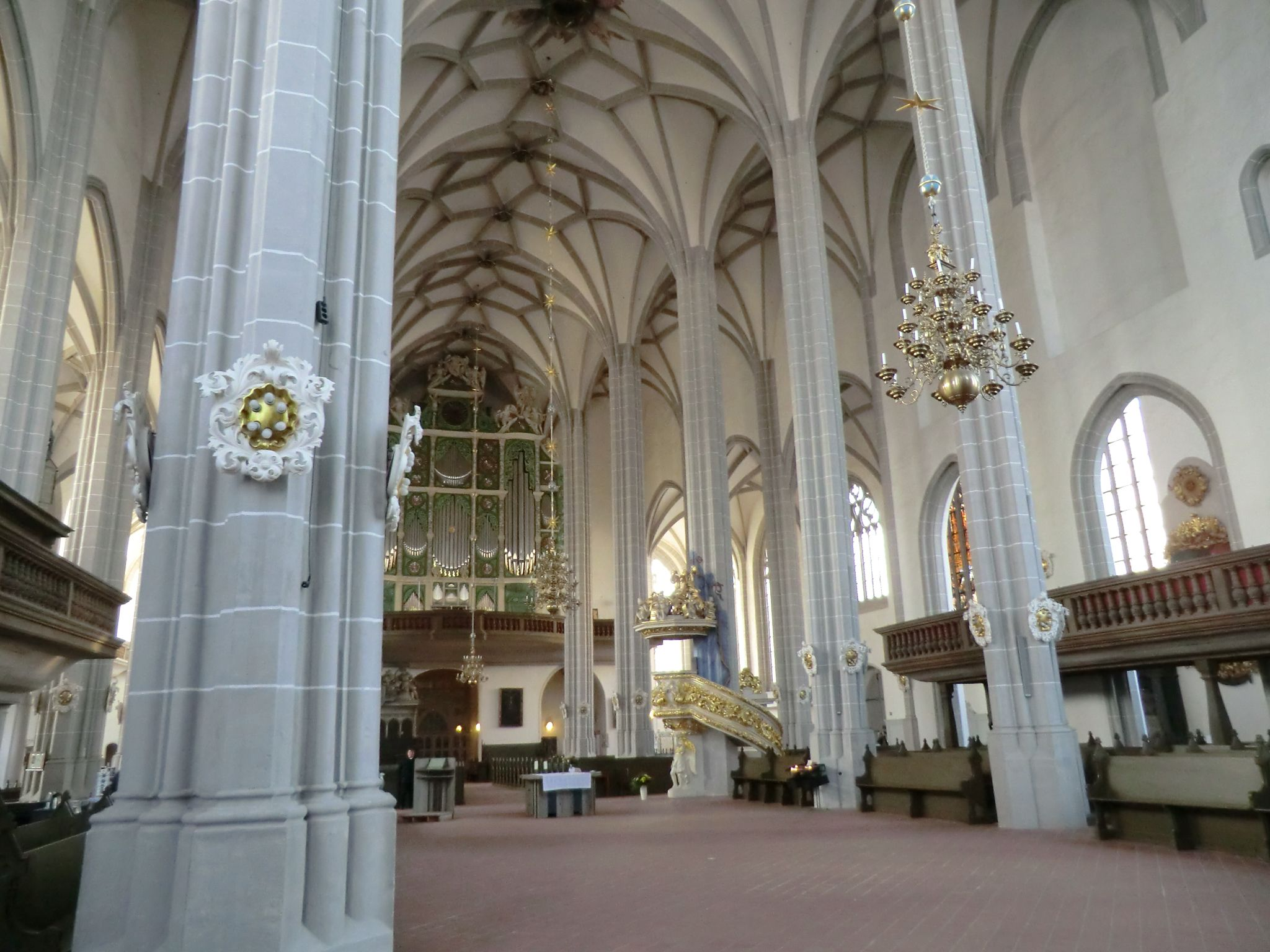In der Peterskirche in Görlitz Schöne städte deutschland