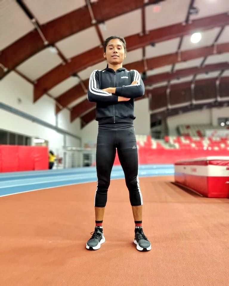 15 Facts About Dhing Express Hima Das India S Golden Athlete Athlete Track And Field Sport Poster Design