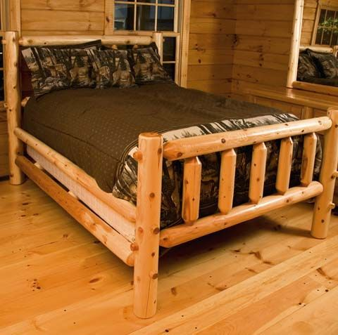 Rustic Log Bedroom Set: Hearthside Log Bed. Add Rustic Charm To Any Home  With This Amazing Bedroom Set.