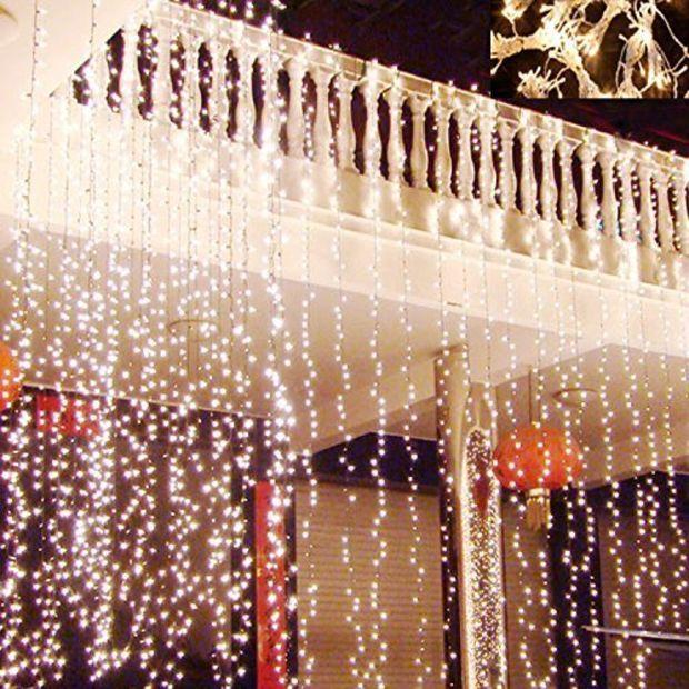 Hikong 3M * 3M 300 LED Christmas Outdoor Party Xmas Festival Fairy