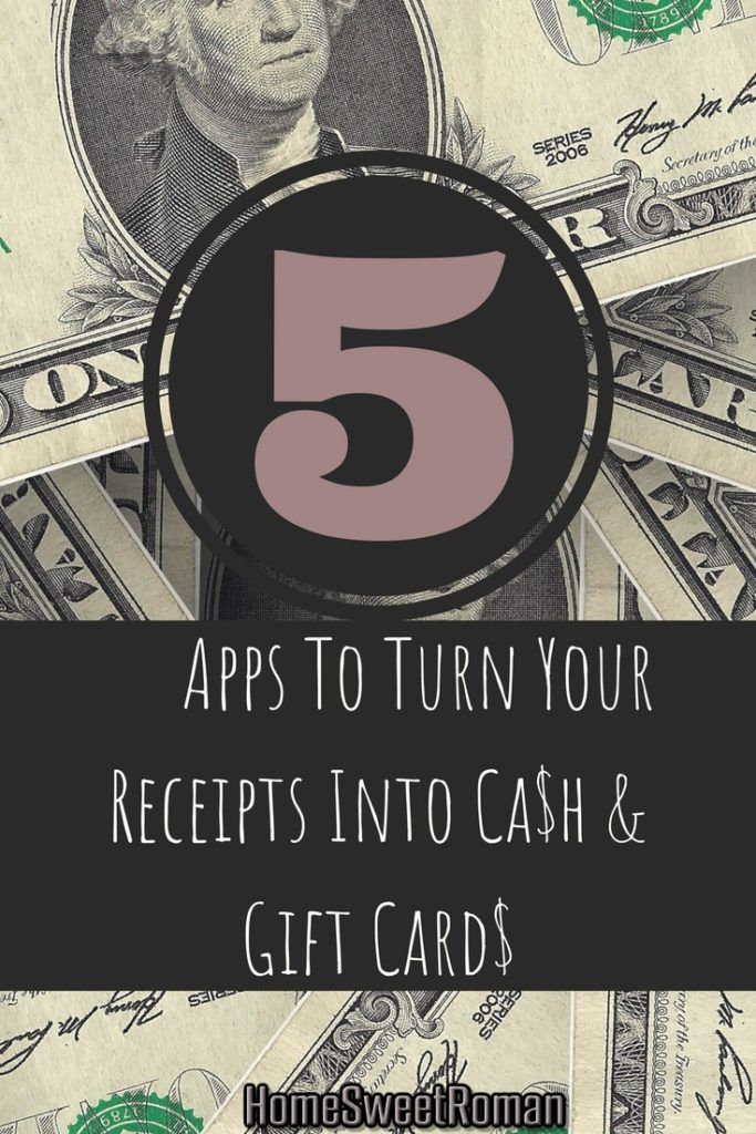 5 Tried & True Apps To Turn Your Receipts Into Cash & Gift