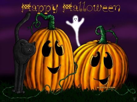 High Quality Halloween Cute Images | Cute Happy Halloween Background