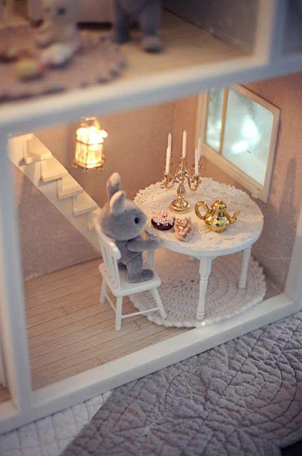 una hermosa vida poco: Pequeña casa