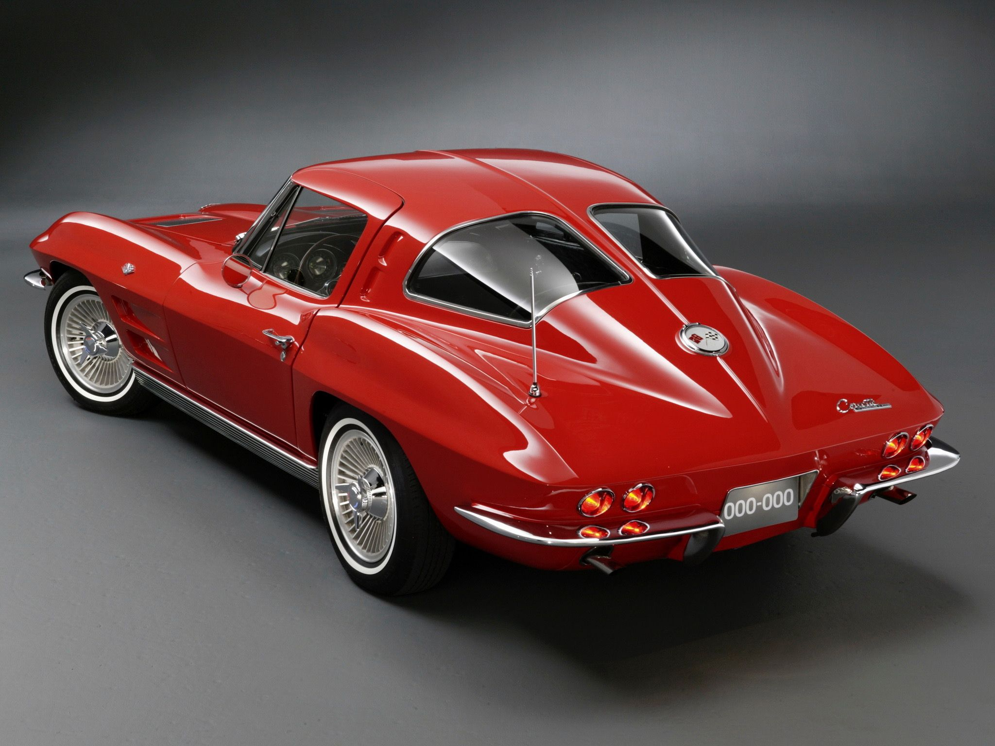 1963 Chevrolet Corvette Stingray Split Window Coupé Chevroletcorvettevintage