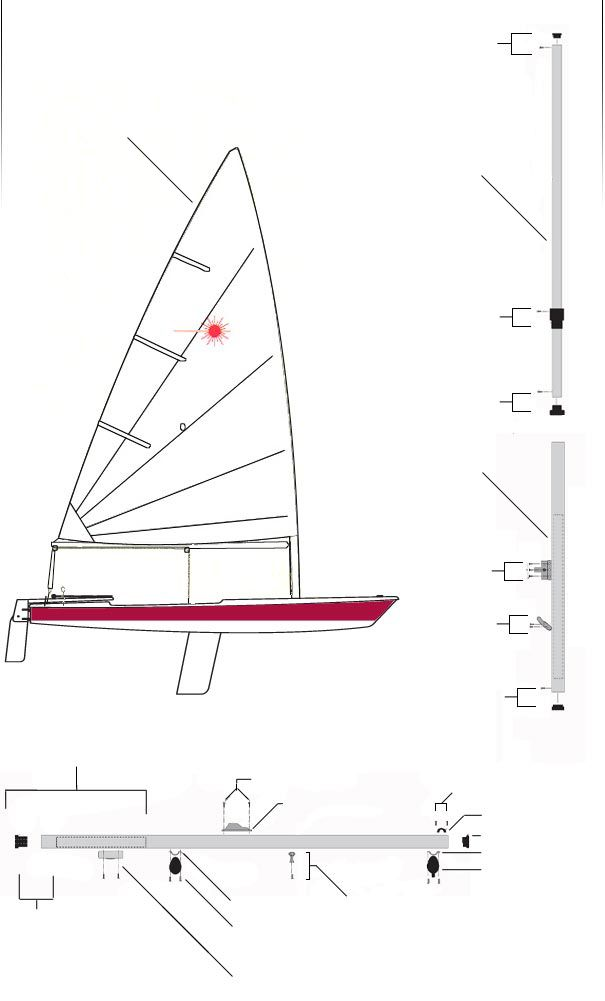 Laser Sailboats Sailing Parts And Accessories By Laser