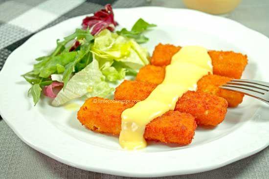 Easy Creamy Hollandaise Sauce with Garlic #hollandaisesauce