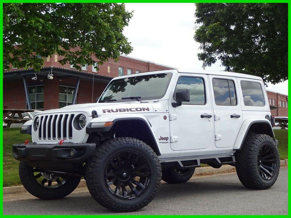 2020 Jeep Wrangler Rubicon 4x4 2020 Jeep Wrangler