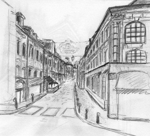 Image result for perspective street drawing 3 pinterest - Dessin en perspective d une maison ...