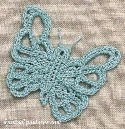 Free Butterfly Crochet Patterns | Crochet Blocks and Motifs ...