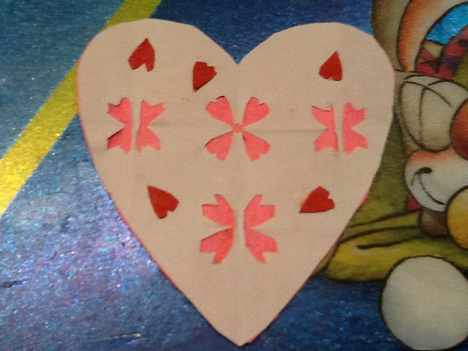 Paper art: leuk voor Valentijn.