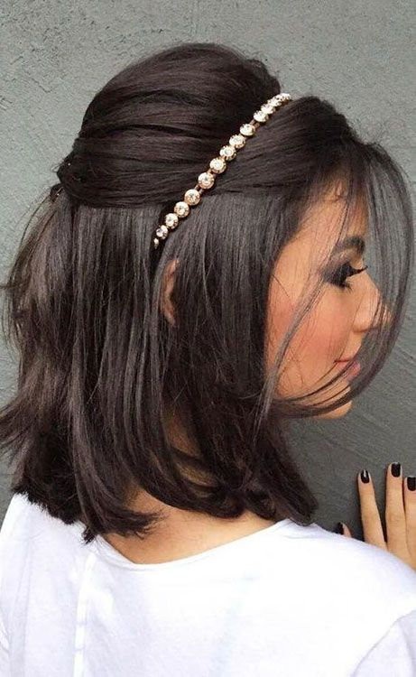 Penteados para cabelo preto em formatura: inspirações para o