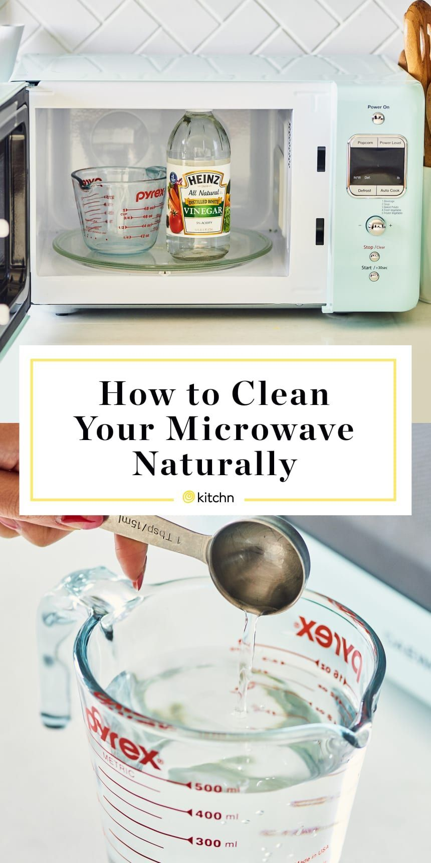 How To Clean A Microwave With Vinegar Hausreinigungs Tipps Mikrowelle Und Badreiniger