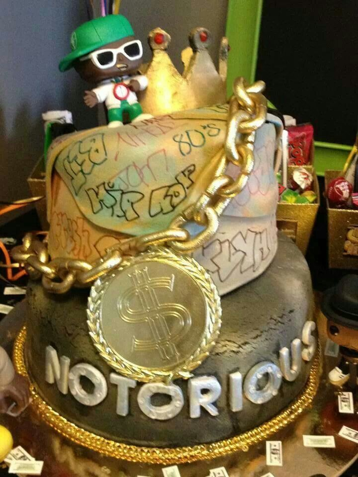Strange Hip Hop Cake With Images Hip Hop Party 30Th Birthday Funny Birthday Cards Online Eattedamsfinfo