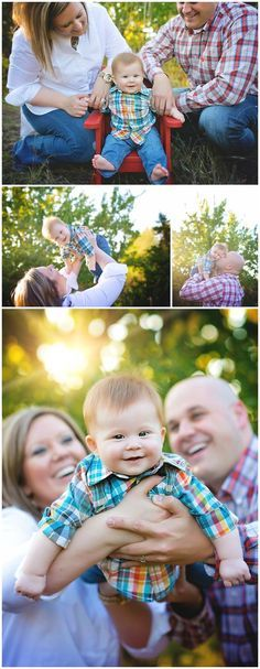 Family Portraits In A Field 6 Month Pictures The Summer