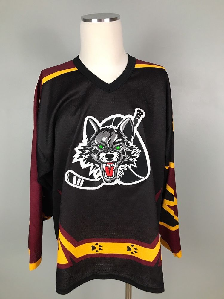 Rare Chicago wolves jersey Sz L Please see photos there