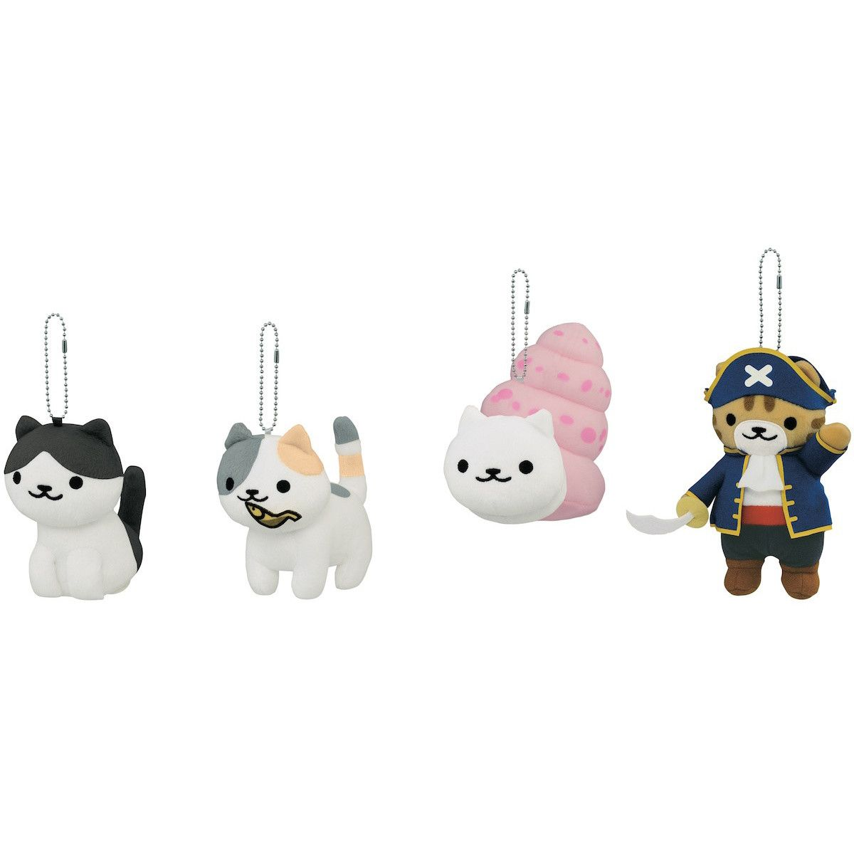 Neko Atsume Big Ball Chain Plush Collection Vol. 18 | Ball chain ...