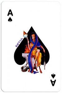 PlayingCardsTop1000 Ace of spades Olympus Gods Greek