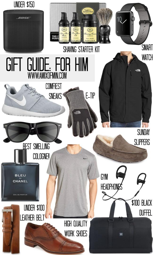 9862416f58b Ultimate Gift Guide for Him II AMIXOFMIN.COM  boyfriendgiftsideas ...
