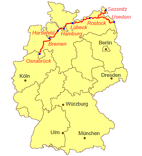 Jakobsweg Norddeutschland