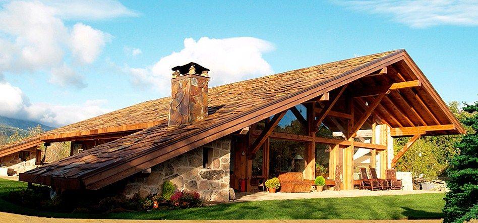 Casas Rusticas Con Techo A Dos Aguas Imagenes De Casas Rusticas Imagenes De Casas Fachadas De Casa Rusticas