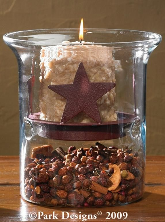 primitive grubby grungy hurricane candle