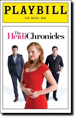 The Heidi Chronicles Playbill Covers On Broadway Information