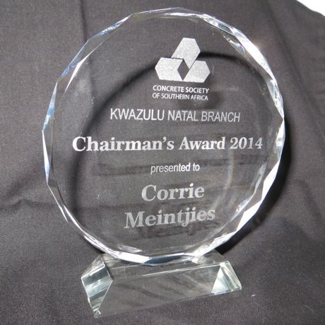 Corporate awards.  Customised to suit.