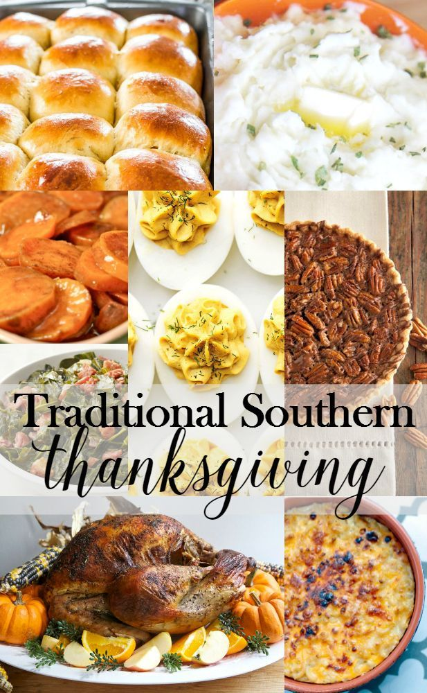 Traditonal Southern Thanksgiving Soul Food and More Food