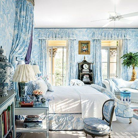 Mario Buatta Decorates a Stately Charleston Mansion for Patricia Altschul : Architectural Digest