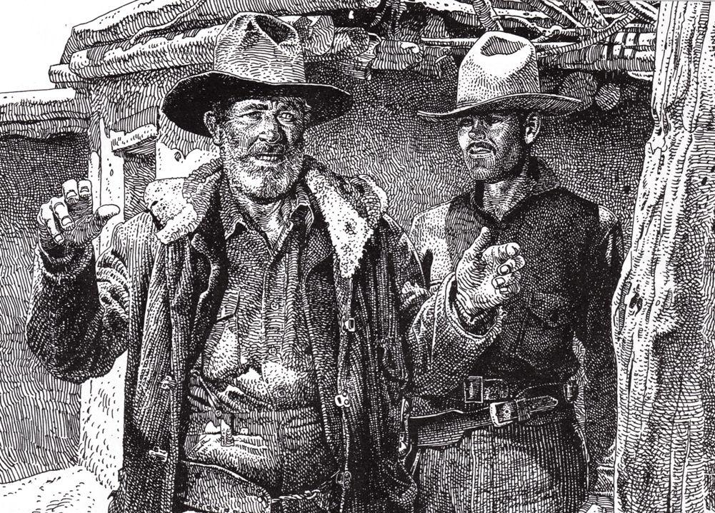 Henry Fonda by Jean Giraud
