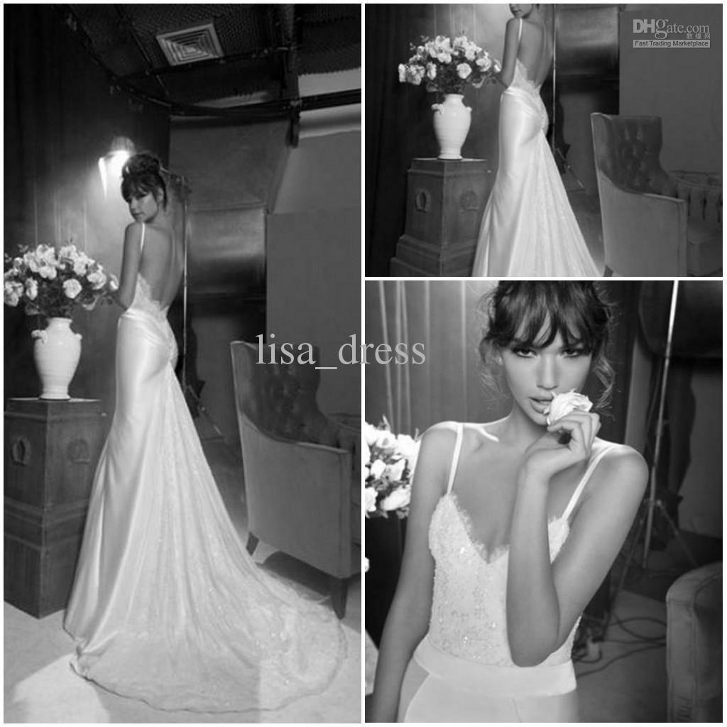Wholesale Sexy sweetheart backless mermaid Inbal Dror wedding dress ...