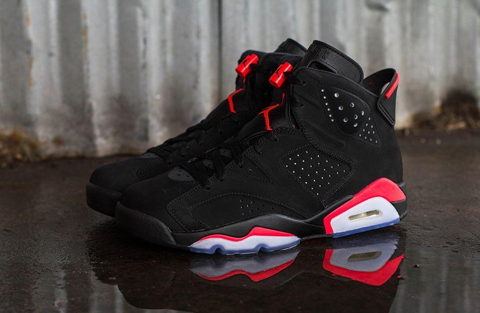 """Air Jordan 6 Retro """"Infrared"""" (Releasing)   Air jordans retro, Air ..."""